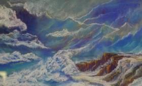 Pastels : marine